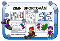 Zimní sporty - předškoláci