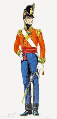 Light Company Officer THE BRITISH ARE COMING!: 69th Regiment of Foot, 1815