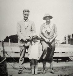F. Scott Fitzgerald and his family