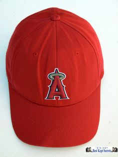 Los Angeles Angels of Anaheim Baseball cap hat snapback red ref 1325