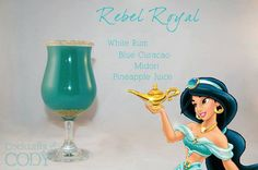 Disney Princess Cocktails........for the little girl and the big girl in each of us, YUM!!!!!!! ♥
