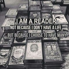 not because i don't have friends (i do alot really) but becasue i canmake more and live for many years in book