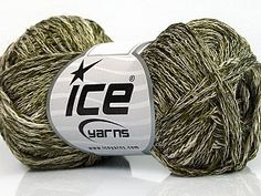 Cotton Viscose Chain White Green  Fiber Content 35% Cotton, 35% Acrylic, 30% Viscose, White, Brand Ice Yarns, Green, Yarn Thickness 2 Fine  Sport, Baby, fnt2-55208 Ice Yarns, Fiber, Spring Summer, White Brand, Chain, Green, Content, Sport, Deporte