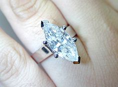 Marquise cut diamond Engagement ring GIA certificate included setting done white gold Appraisal included Bridal Anniversary Birthday gift Best Diamond, Diamond Cuts, Marquise Cut Diamond, Diamond Engagement Rings, Diamond Rings, Wedding Rings, Bridal Rings, Wedding Bells, Jewelry Design