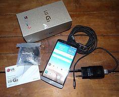 LG  G3 D855 - 16GB - Metallschwarz (Ohne Simlock) Smartphone titan schwarz
