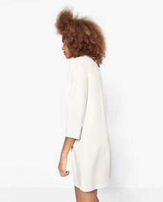 ZARA - WOMAN - DRESS WITH SEQUINNED COLLAR