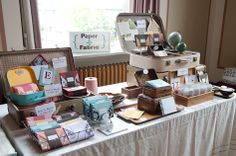 Tips and Pics on Building Great Booth Displays for your Craft