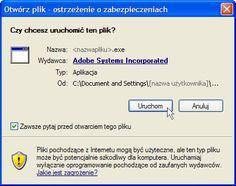 Adobe - Instalowanie programu Adobe Flash Player
