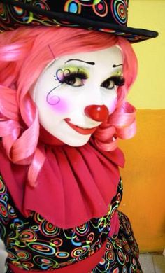 girl clown makeup idea | Cute stuff to remember ...