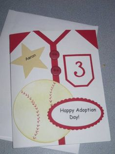 Adoption Day Cards by beechwood - Cards and Paper Crafts at Splitcoaststampers
