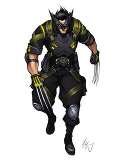 Wolverine redesigned by Lee Chen Fang I'd read a comic with this redesign in it. As long as the story was as strong as the concept.