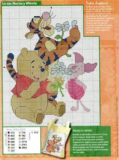 Pooh, Tigger and Piglet