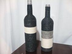 Duo black & white de garrafas