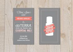 brand . doTERRA business cards  digital file  by pipeup on Etsy