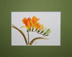 Water Colors, Watercolor Cards, Flower Cards, Drawing Ideas, Bookmarks, Card Ideas, Birthday Cards, Elephant, Doodles