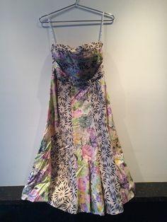 364e33dfc77 I am selling on Ebay - Nanette Lepore Black and Floral Print Silk Dress  Size 4