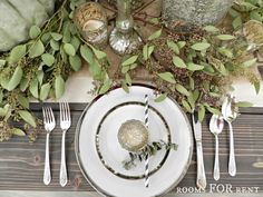 """Well today is Day 5 , the last day of the week long series of Thanksgiving Tablescapes. You know how the saying goes, """"They saved the..."""