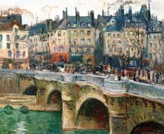 Achille-Émile Othon Friesz - The Pont Neuf, 1902