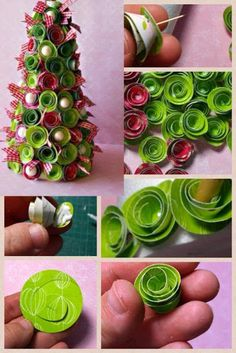 MiiMii - Crafts for Mom and daughter .: How to make Christmas ornaments for a few pennies - the time to act :)