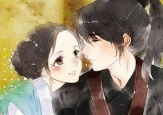 Fanart scarlet heart ryeo  @actor_jg @dlwlrma  #scarletheartryeo #moonlovers #leejieun #leejunki