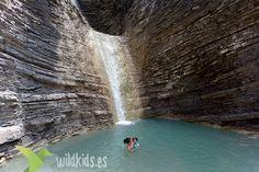 Excursiones con niños - Cascada de Orós Bajo