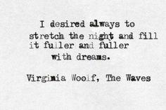 Virginia Woolf, The Waves