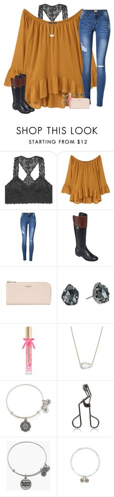 """sometimes it all gets a little too much"" by hailstails ❤ liked on Polyvore featuring Youmita, MANGO, Liz Claiborne, Furla, Kendra Scott, Victoria's Secret, Alex and Ani, Tweezerman and 15daysofShawnwKarina"