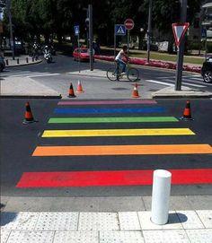 faixa de pedestre em Tel Aviv