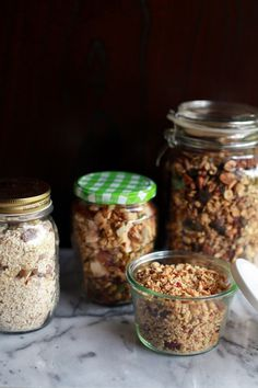 she who eats: breakfast from the jar Granola recipes