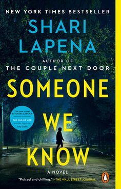 """AN INSTANT NEW YORK TIMES BESTSELLER!    USA Today's top 100 books to read while stuck at home social distancing    """"No-one does suburban paranoia like Shari Lapena--this slowly unfurlingnightmare will have you biting your nails until the end.""""  --Ruth Ware, #1 New York Times bestselling author of The Woman in Cabin 10    The new domestic suspense novel from the New York Times bestselling author ofThe Couple Next Door, A Stranger in the House, and An Unwanted Guest, ShariLapena    Maybe you don' 100 Books To Read, New Books, Good Thriller Books, Mystery Thriller, The Couple Next Door, Bestselling Author, Penguin, Novels, Ruth Ware"""