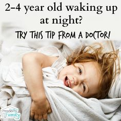 My 2 year old is still waking up at night - advice from a Pediatrician