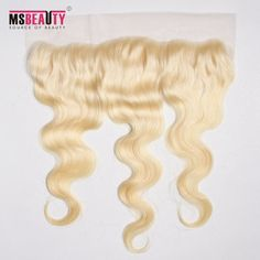 "Msbeauty 100%  Virgin Human Hair 13""*4"" Striaght Lace Top Closure Hand Made Can Be Customized"