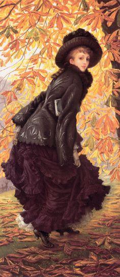 James Tissot - October via Austriacus