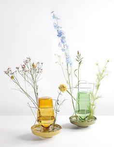 "Vases ""Hidden"" / Design Valerie Object. / Chez Fleux."