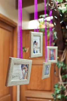 Hanging Photos... Style Me Pretty | Gallery