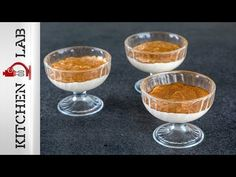 Vanilla pudding by the Greek chef Akis Petretzikis! Make easily and quickly this recipe for delicious vanilla pudding that will amaze everyone! Caramel, Vanilla, Pudding, Breakfast, Tableware, Sweet, Desserts, Recipes, Food