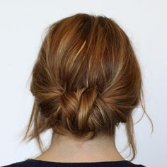 What's your hairdo of choice nowadays? This little bun  has been my go-to do  for the past few weeks! It's super easy to make, very low-ke...