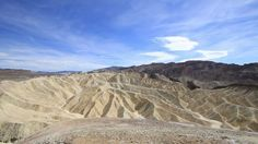 Timelapse in the Death Valley, in California.