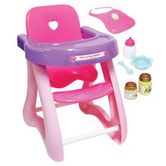 Baby Doll Nursery, Baby Doll Toys, Baby Alive Dolls, Cute Baby Dolls, Little Girl Toys, Toys For Girls, Doll High Chair, Real Life Baby Dolls, Barbie Doll Set