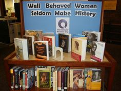 women's history month library displays - Google Search