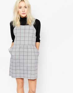 Influence | Influence Check Pinafore Dress