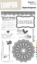 Kesi'art - Art du tampon Clear Stamps P