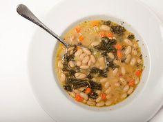 "30-Minute Tuscan White Bean Soup   Serious Eats: Recipes - Mobile Beta!"""