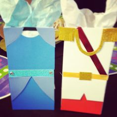 Cinderella and Prince Charming Treat Bags by LollypopBoutique, $12.00