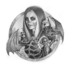Emma the Reaper by namesjames.deviantart.com on @deviantART