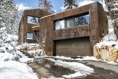 One of the most energy efficient homes in the country, this passive home was designed and built by Park City Design Build, in Summit Park, Park City, Utah.