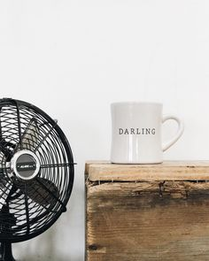 We may still have the fans going, but that's not going to stop us from cozying up with a Darling mug under the cover of a blanket. Available for $10 in our shop!