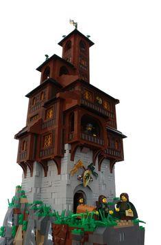Lego Village, Lego Universe, Lego Army, Amazing Lego Creations, Lego Pictures, Lego Castle, Lego Architecture, Lego Design, Lego Models