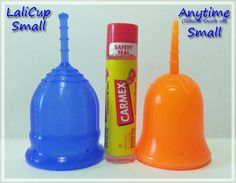 LaliCup Small vs Anytime Cup (Sckoon Knock off) Small #menstrualcup #periodpositive #mycupsonfleek #rumps #menstruationmatters