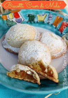 Biscotti cuor di mela fatti in casa ricetta facile il mio saper fare